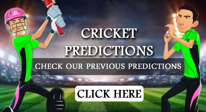 Cricket Predictions Astrology