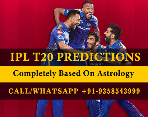 IPL T20 Predictions - Who Will Win Today IPL Match Prediction