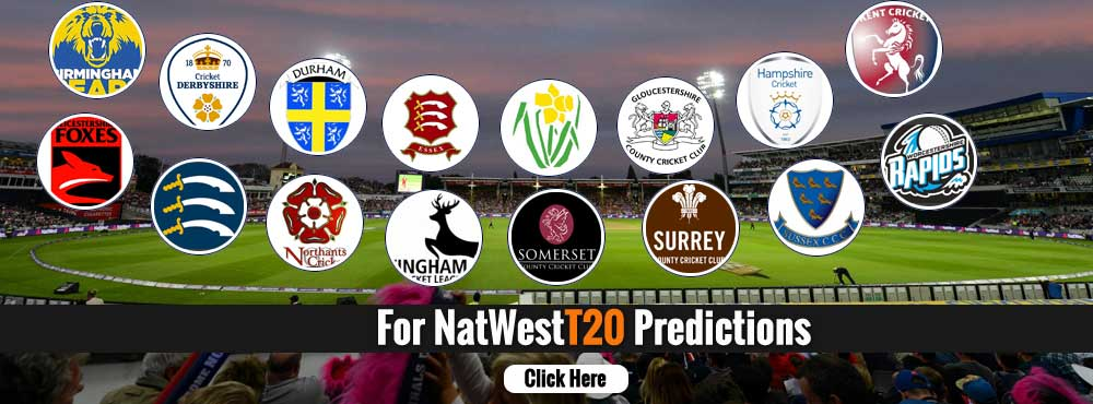 Natwest T20 Prediction