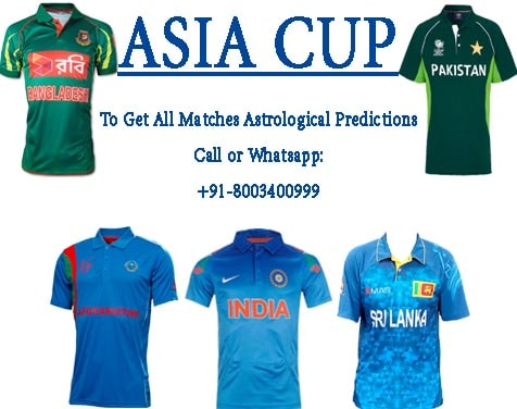 asia cup astro prediction